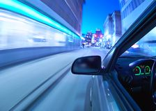 Car moving Stock Images