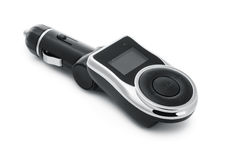 Car mp3 player with fm transmitter Stock Image