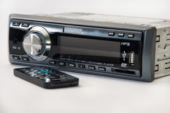 Car mp3 player with ir remote Stock Photos