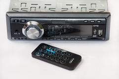 Car mp3 player with ir remote Stock Photography