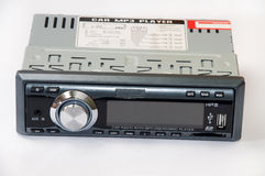 Car mp3 radio player Stock Image