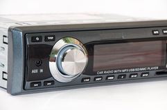 Car mp3 radio player Stock Photography
