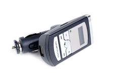 Car mp3 player with fm modulator Royalty Free Stock Photo