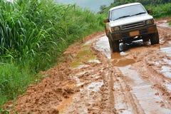 Car in mud Stock Photos