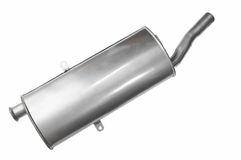 Car Muffler Royalty Free Stock Images