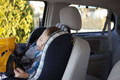 Car Nap Royalty Free Stock Image