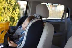 Car Nap Royalty Free Stock Image
