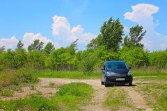 Car and nature Royalty Free Stock Images