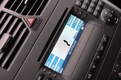 Car navigation Stock Photography