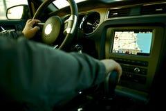 Car Navigation Stock Image