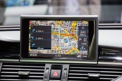 Car navigation Stock Photography
