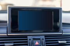 Car navigation sistem Royalty Free Stock Photo
