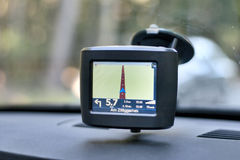 Car Navigation System stock photography