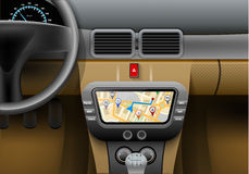 Car Navigation Syster Royalty Free Stock Photo