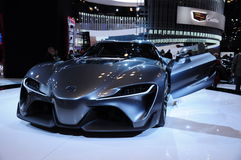 Car in new york auto show 2015 Royalty Free Stock Photography
