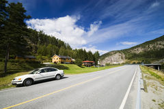 Car in Norway Royalty Free Stock Images