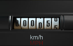 Car Odometer New Royalty Free Stock Photography