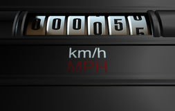 Car Odometer New Royalty Free Stock Image