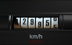 Car Odometer New Stock Images