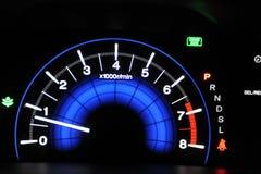 Car Odometer Stock Photo