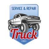 Car off-road service 4x4 suv emblem, badges Royalty Free Stock Photo