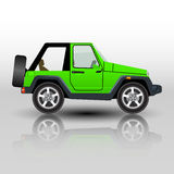 Car off road SUV . vector illustration