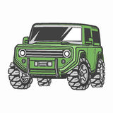 Car off-road 4x4 suv trophy truck Stock Photos