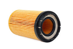 Car oil filter Royalty Free Stock Photos