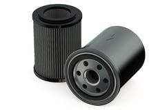 Car Oil filters Royalty Free Stock Photo