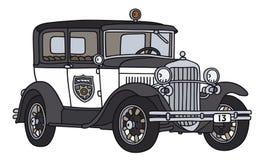 car old police Στοκ Εικόνα