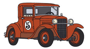 car old racing Στοκ φωτογραφία με δικαίωμα ελεύθερης χρήσης