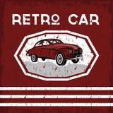 Car old vintage grunge poster Stock Images