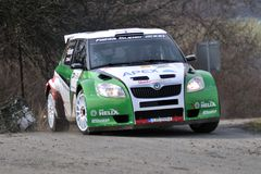 Car On Race Stock Images