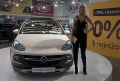 Car Opel Adam Rocks Stock Image
