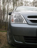 Car opel meriva autumn Royalty Free Stock Images
