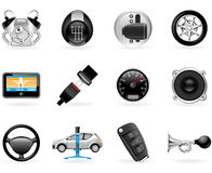 Car options Stock Photos