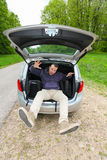 Car packing Royalty Free Stock Photos