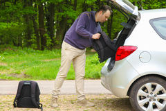 Car packing Stock Photo