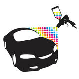 Car paint Royalty Free Stock Photography