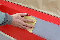 Car painting Stock Photography