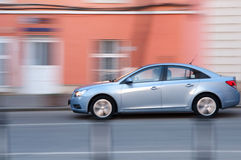 Car panning Stock Images