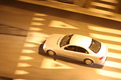 Car panning Stock Photo