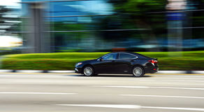 Car Panning Shot Royalty Free Stock Photos