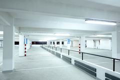 Car park Royalty Free Stock Photography