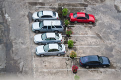 Car park Stock Photo