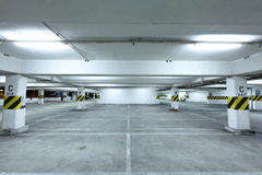 Car park Royalty Free Stock Images