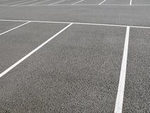 Car Park. View of Empty Parking Spaces Stock Photos