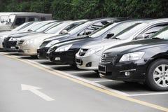 Car park Stock Image