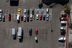 Car park Stock Image