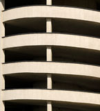 Car park. Abstract multi storey car park Stock Photo